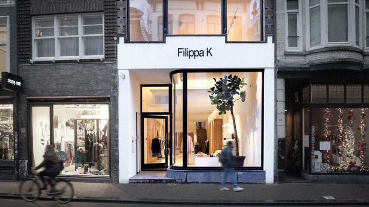Voor het Zweedse modemerk heeft BNLA op de Utrechtsestraat de transformatie van de voorgevel verzorgd. Het credo van Filippa K 'eenvoud is de puurste vorm van luxe' wordt gereflecteerd in het gevelontwerp en vormt daarmee een eenheid met het winkelinterieur.
