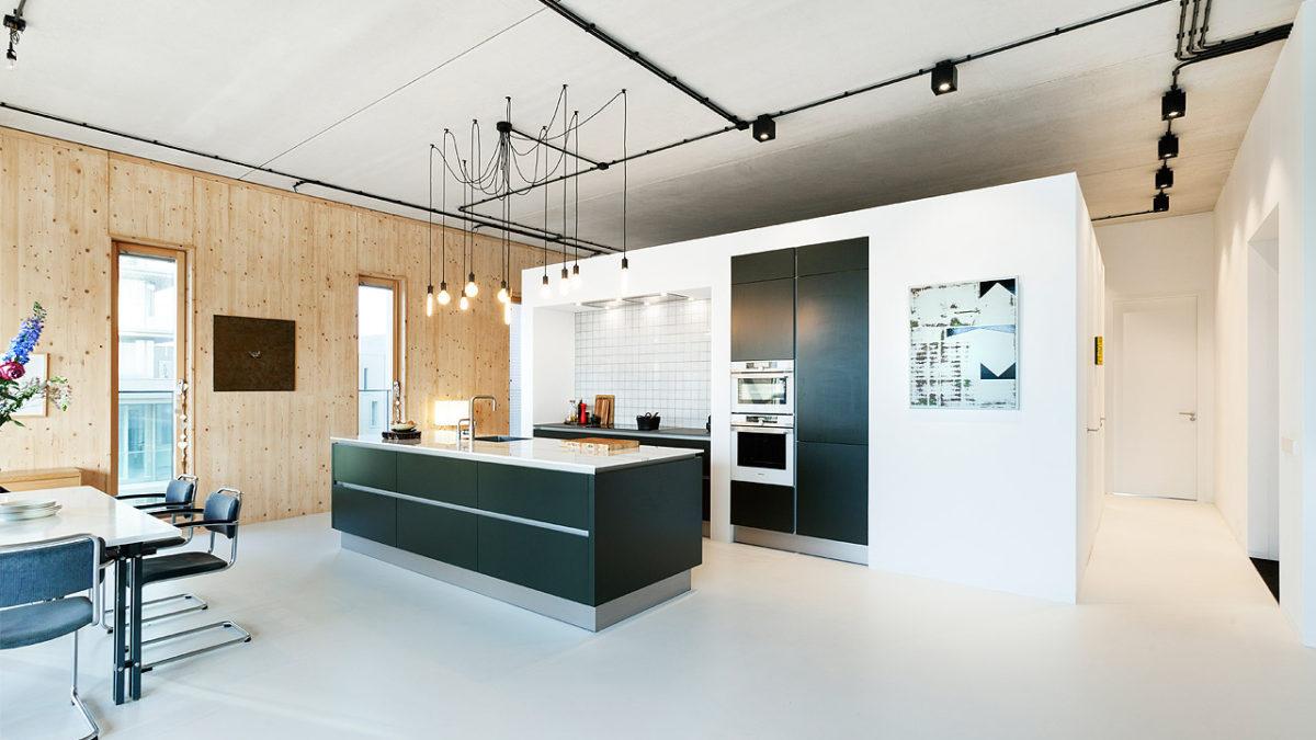 BNLA architecten duurzaam interieur woongebouw amsterdam