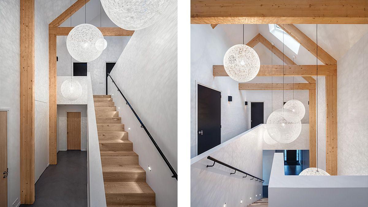 BNLA architecten ontwerp centrale hal appartement hoogwaardig