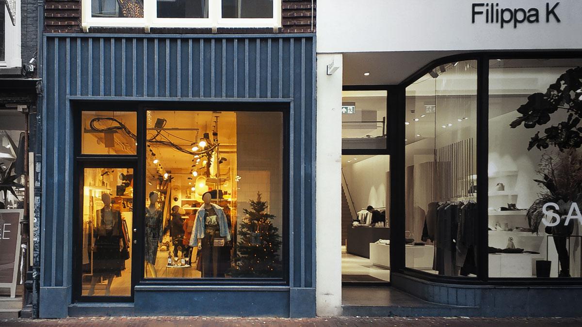 BNLA architecten ontwerp gevel Amsterdam Sissy-boy Utrechtsestraat