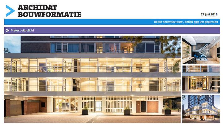 De samenwerking tussen BNLA architecten en Bureau Fraai combineert het beste van twee partijen met een geslaagd resultaat: high-end wonen in een hoogwaardig woongebouw dat onder architectuur gebouwd- en verbouwd is.