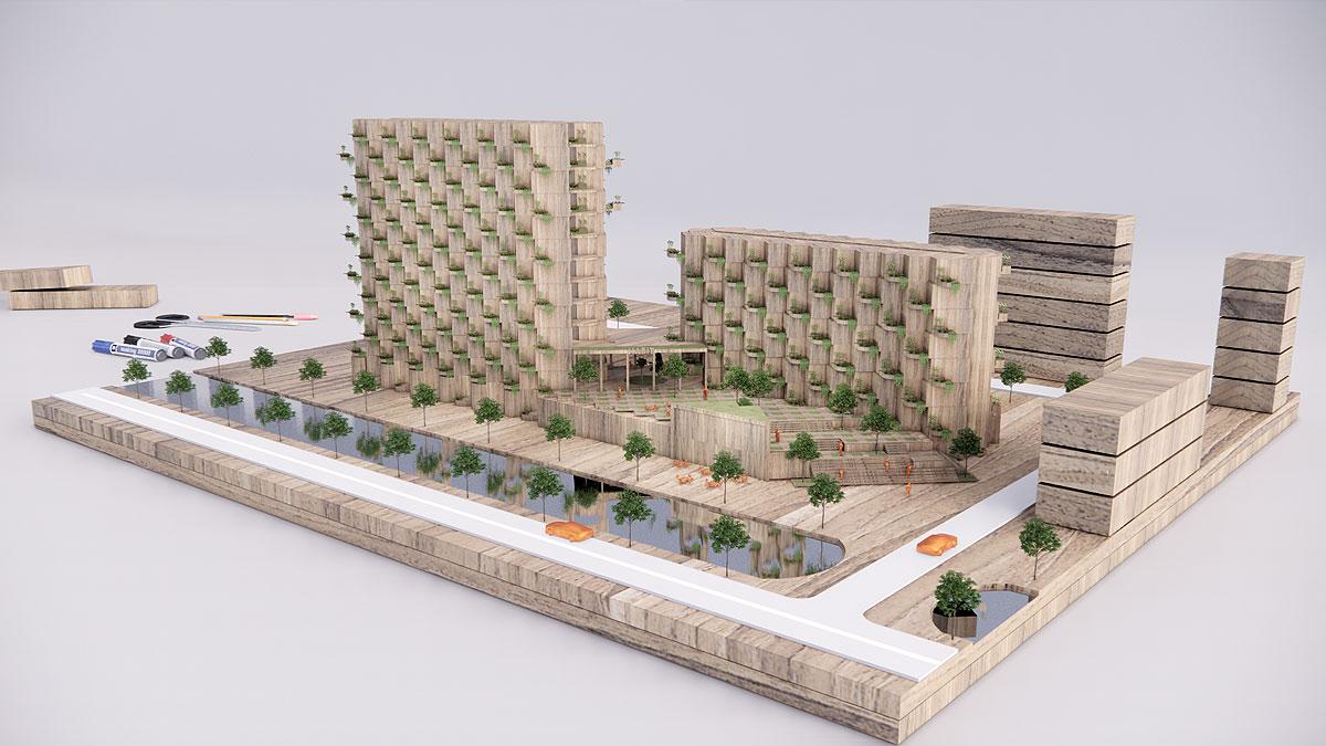 BNLA-architecten-ontwerp-woongebouw